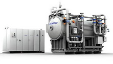 WEDECO weed high ozone generator and ultraviolet disinfection